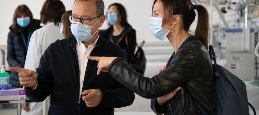 """Farrés assegura que l'Hospital Temporal Vallès Salut ajudarà al Taulí """"a respirar""""   Roger Benet"""