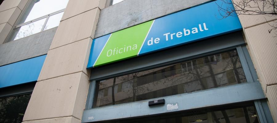 Exterior de l'oficina del SOC del carrer de la República/ Roger Benet