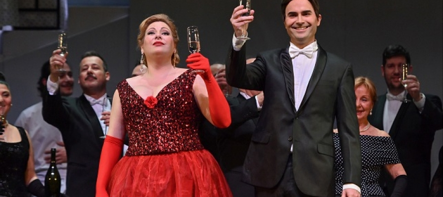 Imatge d'una de les produccions dels Amics de l'Òpera | Cedida