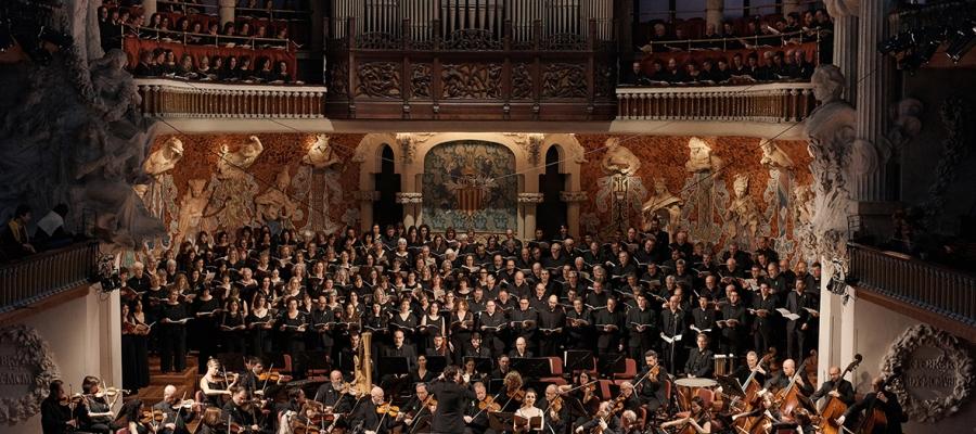 Un dels concerts de l'OSV al Palau/ Orquestra Simfònica del Vallès