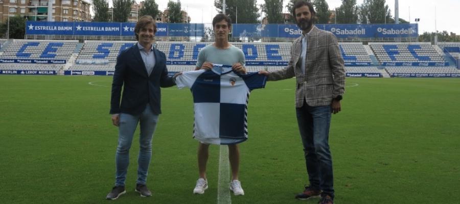 Manzanera, Ozkoidi i Batlle després de signar la renovació | CES