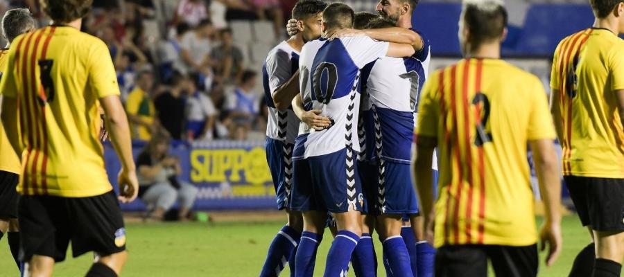 Sabadell i Sant Andreu ja van jugar a la Nova Creu Alta un amistós l'estiu passat | Roger Benet