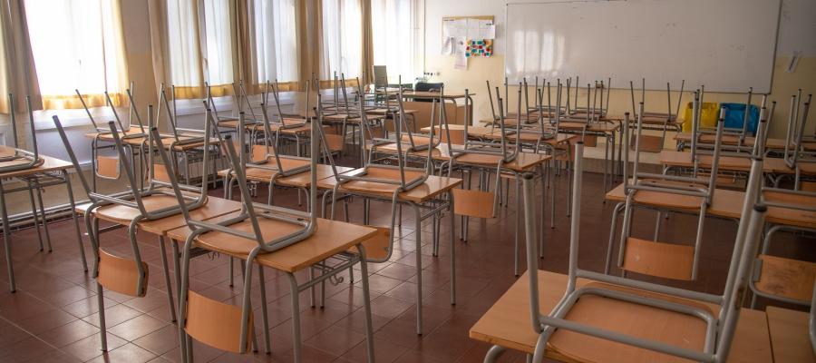 Una aula buida/ Roger Benet