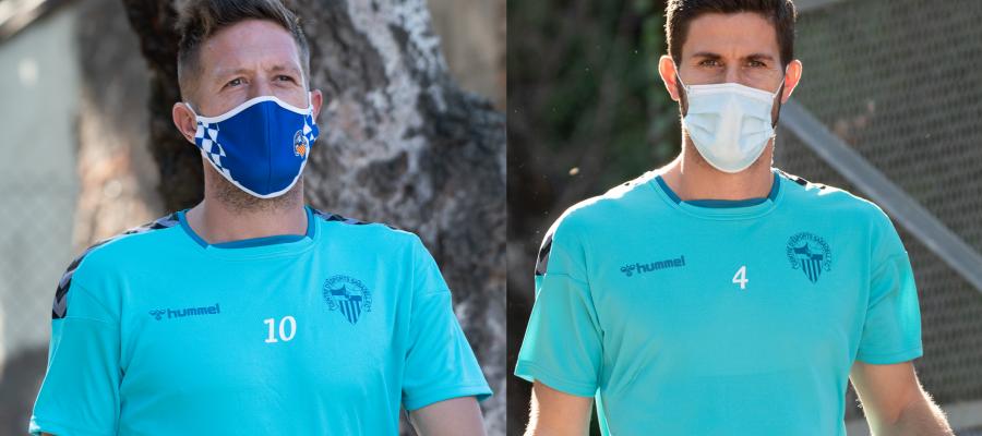 Edgar Hernández i Aleix Coch es pedran els següents compromisos del Sabadell | Roger Benet