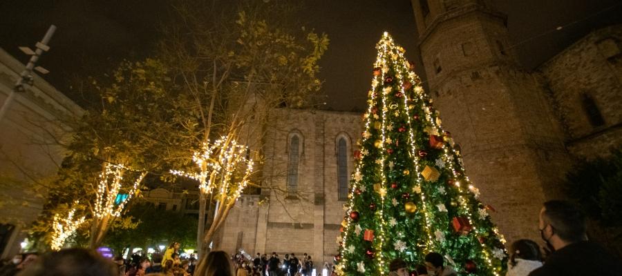 L'arbre de nadal del Racó del Campanar | Roger Benet