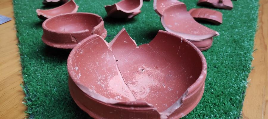 La vaixella de taula, amb bols i tasses, d'aquesta vil·la romana | Pau Duran