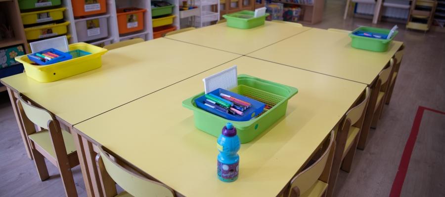 Les escoles s'adapten a les mesures de seguretat per la pandèmia | Roger Benet