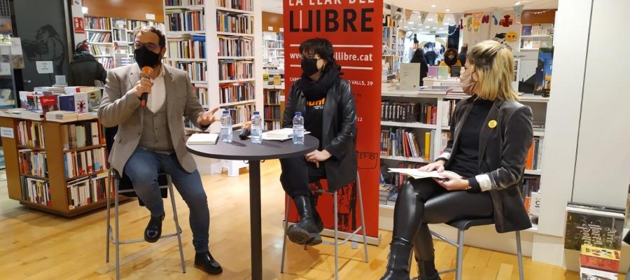 Fernàndez, Riba i Alamany a La Llar del Llibre | Marc Serrano