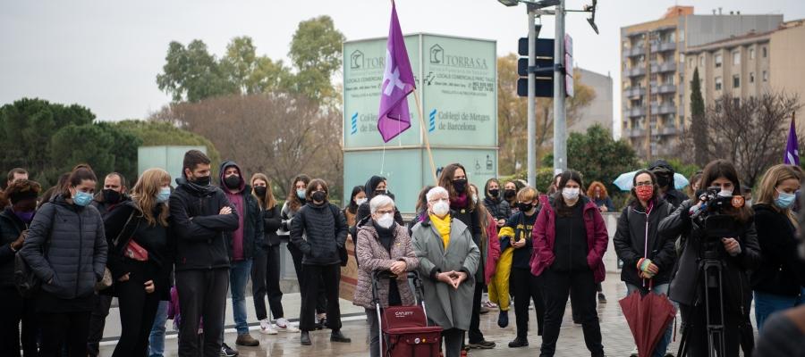 Manifestació feminista al Parc Taulí   Roger Benet