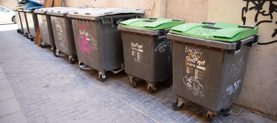 Els contenidors segueixen sent la manera de recollir la brossa   Roger Benet