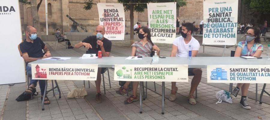 Serracant, Mansilla, Codina i Lara a la taula rodona | Ràdio Sabadell