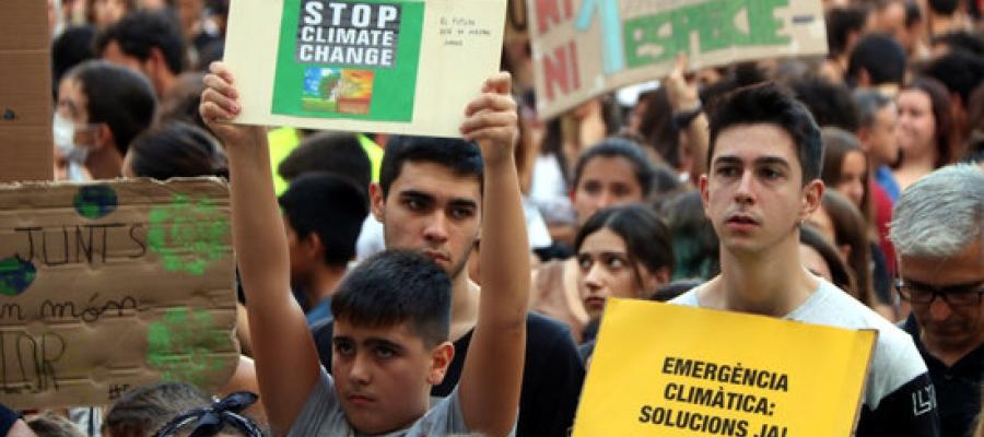 Manifestació contra el canvi climàtic | ACN