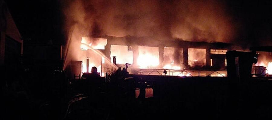 El foc s'ha originat al número 9 del carrer Can Clapers | ACN