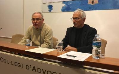 Santi Vidal a l'acte de Sabadell Lliure de Corrupció - © Mireia Sans