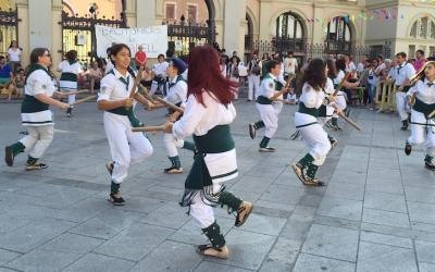 Els Bastoners de Sabadell en una actuació | Arxiu