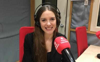 La cantant Museless ha passat avui per Ràdio Sabadell | Marc Pijuan