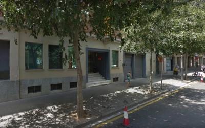 Exterior de la seu del PSC a Barcelona
