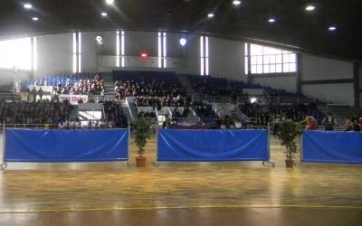 El Pavelló Municipal d'Esports de Sol i Padrís en una competició | Arxiu