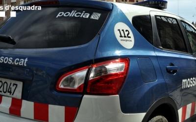 Imatge d'una patrulla de Mossos