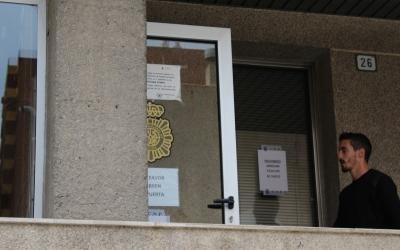 Nico Cháfer entrant aquest matí a la Comissaria d'Elda | IdellaSport
