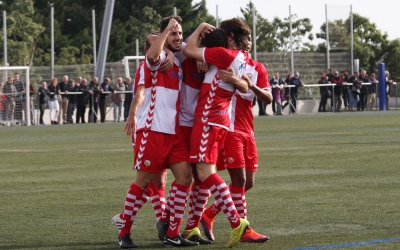 El Sabadell ja es va imposar a la primera volta per 1-2 a Montigalà | Roger Benet (CES)