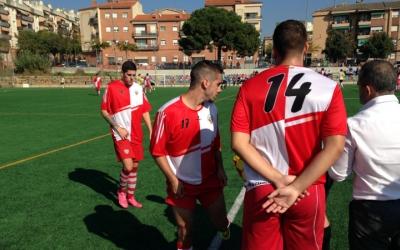 Paco Moreno dona instruccions als seus jugadors