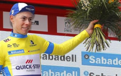 David de la Cruz ha perdut el liderat de la Volta al País Basc