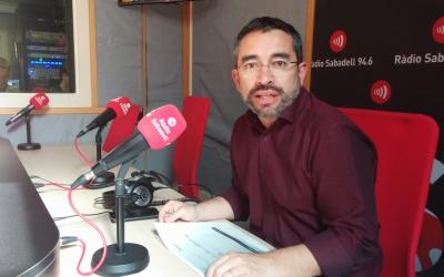 El regidor d'Acció Social, Gabriel Fernández a Ràdio Sabadell