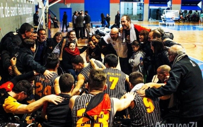 El Global Basket celebra el títol de la fase regular