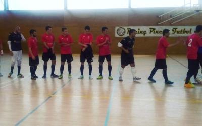 El Grups Arrahona en el darrer partit a la pista del Pineda
