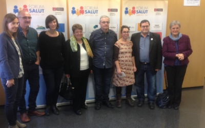 Ponents i participants de la tarda al Fòrum Salut 2017. Ràdio Sabadell