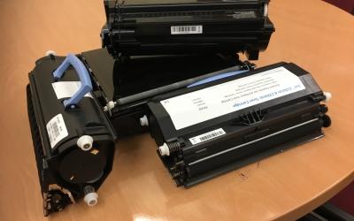 Els tòners de les impressores són un dels residus especials | Mireia Sans
