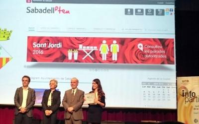 Entrega del guardó, l'any passat/ Ajuntament de Sabadell