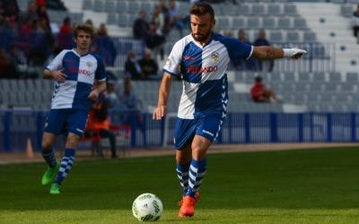 Jordan Sánchez en un partit de la primera volta