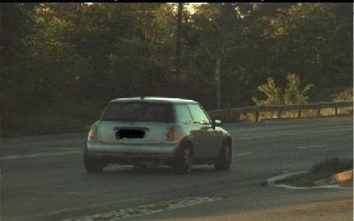 Un dels cotxes intervinguts