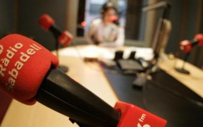 Els estudis de Ràdio Sabadell