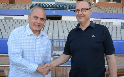 Xavi Cubino i Toni Reguant, director general i president del Sabadell | Roger Benet (CES)