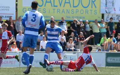 El Sabadell no va passar de l'empat ahir al Prat | Roger Benet (CES)