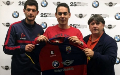 D'esquerra a dreta: Carlos López, Juan Romero i Jordi Grané. Imatge d'arxiu de la presentació de Romero