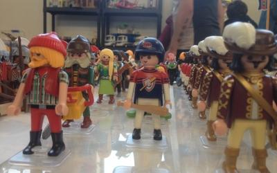 Exposició de clicks de Playmobil. Foto: Ràdio Sabadell