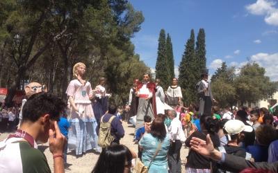 Pla de la Salut durant la Cercavila. Foto: Ràdio Sabadell