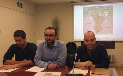 Representants de l'Adenc i de l'Ajuntament han presentat avui el projecte de Grípia-Ribatallada
