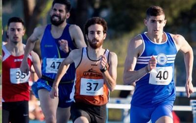 Aitor Martín es va imposar als 800 metres amb un temps de 1:53.39 | JAS