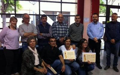 El jurat i els 4 guanyadors del concurs de cuina de Medievàlia