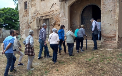 Els veïns de Ca n'Oriac van poder visitar ahir la masia