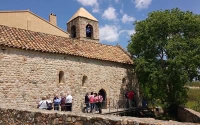 Exterior de l'església de Sant Pau de Riu-sec/ Arxiu Ràdio Sabadell