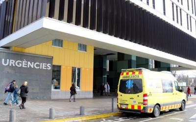 Imatge de l'entrada del servei d'urgències del Taulí