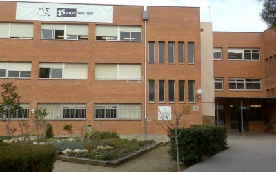 Exterior de l'Institut Agustí Serra/ Cedida