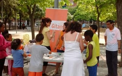 Imatge d'una de les activitats de la festa de l'any passat/ Cedida