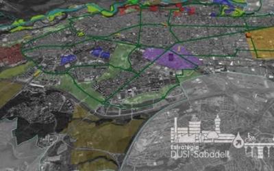 Imatge d'un dels mapes inclosos al projecte de l'Edusi/ Ajuntament de Sabadell